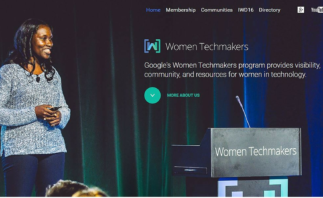Twenty Ten Talent - Learn from women in tech at Google Women Techmakers