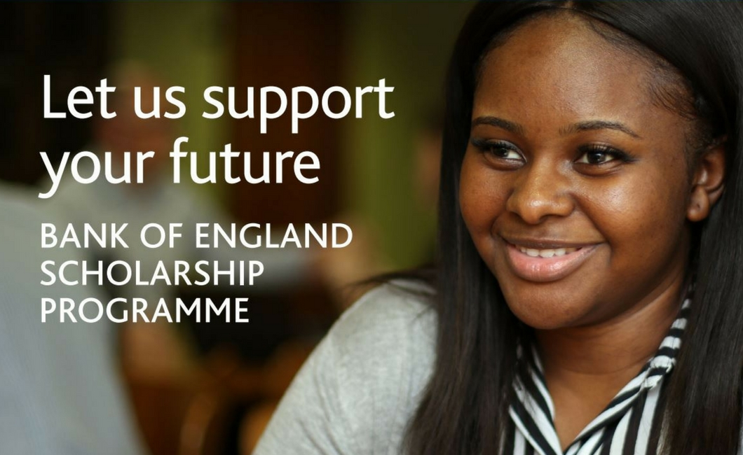 Twenty Ten Talent - Bank of England Scholarship