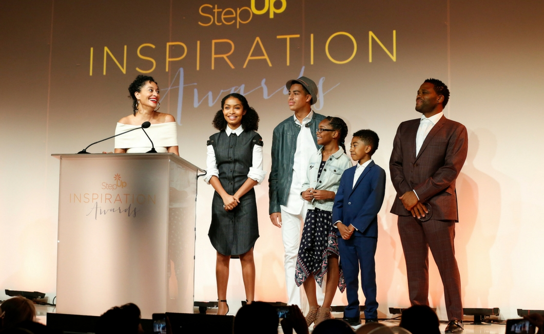 Step Up honors ABC's black-ish and Class of 2017 at Inspiration ...
